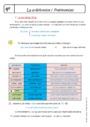 Cours Grammaire - Anglais : 4ème