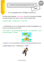 Leçon Grammaire - Étude de la langue : CM1