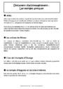 Leçon Histoire des arts : CM1