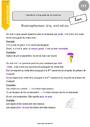 Leçon Homonymes, homophones : CE2