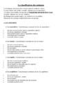 Leçon La classification des animaux : CM1