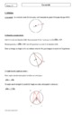 Cours Le cercle : Seconde - 2nde