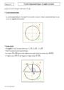 Cours Le cercle trigonométrique : Première
