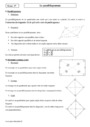 Cours Le parallélogramme : Seconde - 2nde