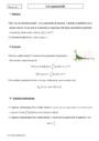 Cours Loi exponentielle : Terminale