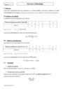 Cours Moyenne arithmétique : Seconde - 2nde