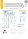 Leçon Nombres jusqu'à 9 999 : CM1