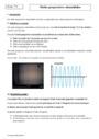 Cours Ondes progressives sinusoïdales : Terminale