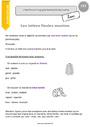 Leçon Orthographe - Étude de la langue : CE2