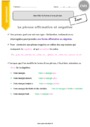 Leçon Phrase / Types de phrase : CM1