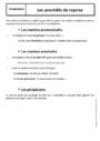Cours Pléonasme et périphrase : 6ème