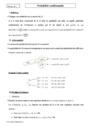 Cours Probabilité conditionnelle : Terminale