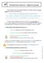 Cours Pronom relatif - Anglais : 4ème