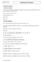 Cours Puissance de matrices : Terminale