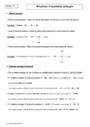 Cours Réactions d'oxydation ménagée : Première