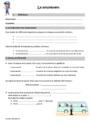 Leçon Sciences - Nouveau programme : CM2
