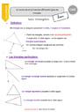 Leçon Triangles : CM2