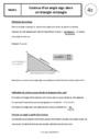 Cours Trigonométrie : 4ème