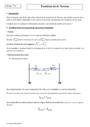 Cours Troisième loi de Newton : Terminale