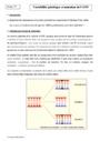 Cours Variabilité génétique et mutation de l'ADN : Première