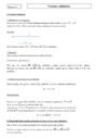 Cours Vecteurs colinéaires : Première