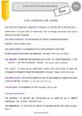 Leçon Verbe, nom, article, adjectif : CE1