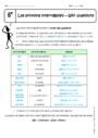 Cours Wh- questions - Anglais : 6ème