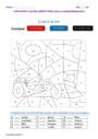 Coloriage magique - Accord du nom / pluriels particuliers : CE1
