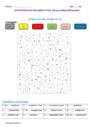 Coloriage magique - Imparfait de l'indicatif : CE1