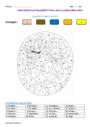 Coloriage magique - Lettre finale muette : CM2