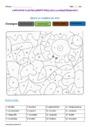 Coloriage magique - Nature et fonction : CE2