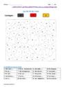 Coloriage magique - Orthographe - Étude de la langue : CM1