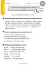 Leçon et exercice : Complément du nom : CM1