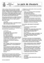 Leçon et exercice : Contes : CE2