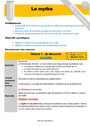 Leçon et exercice : Contes : CM1