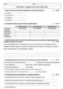 Evaluation Accord du nom / pluriels particuliers : 6ème