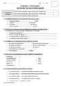 Evaluation Accord du participe passé : CM2