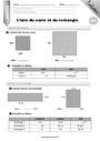 Evaluation Aires et volumes : CM2