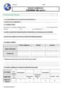 Evaluation Besoins alimentaires : CM1