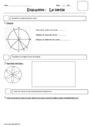 Evaluation Cercle et disque : CE2