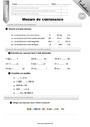 Evaluation Contenance, capacité litre : CM1