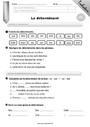 Evaluation Déterminants et pronoms : CE1