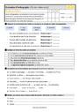 Evaluation Fin des verbes en é : CM2