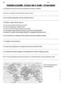 Evaluation Géographie : CM2
