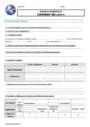 Evaluation Géographie - Nouveau programme : CM1