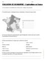 Evaluation L'agriculture en France : CM2