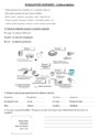 Evaluation L'alimentation : CM1