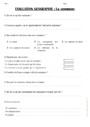Evaluation La commune : CE2