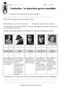 Evaluation La deuxième guerre mondiale : CM2