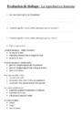 Evaluation La reproduction humaine : CM2